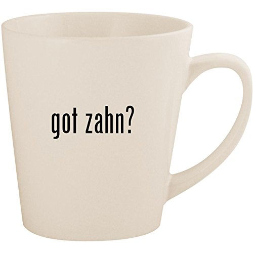 (got zahn? - White 12oz Ceramic Latte Mug)