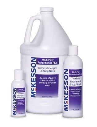 Shampoo Tearless 12 Ounce - McKesson Tearless Shampoo and Body Wash - 12 oz