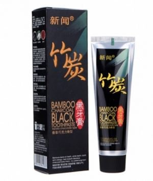 60g Black Bamboo Charcoal Toothpaste Teeth Whitening by SiamsShop