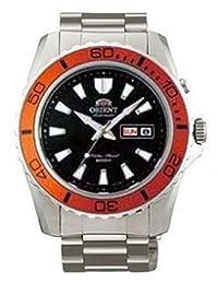 Orient Automatic Dive Watch CEM75004B (Orange Bezel Mako II)