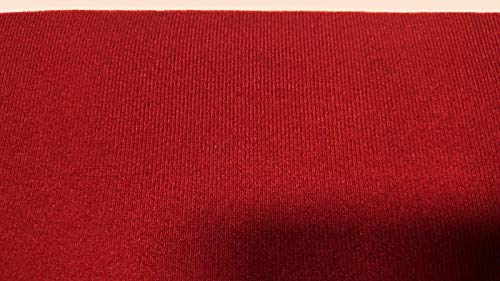 by The Yard Classic Red/Corvette Red- Auto One Automotive Upholstery Headliner Fabric 3/16