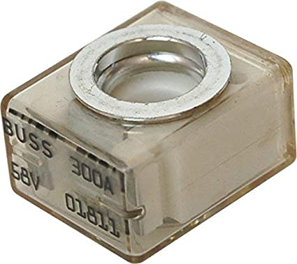 Bay Marine Supply 58V DC Maximum IP66 30A-300A Marine Rated Battery Fuse MRBF Terminal Fuse Only