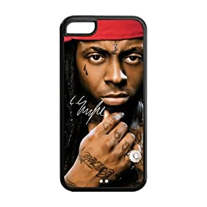 Hard Rubber Special Design iPhone 5c Cover Lil Wayne Case for iPhone 5c