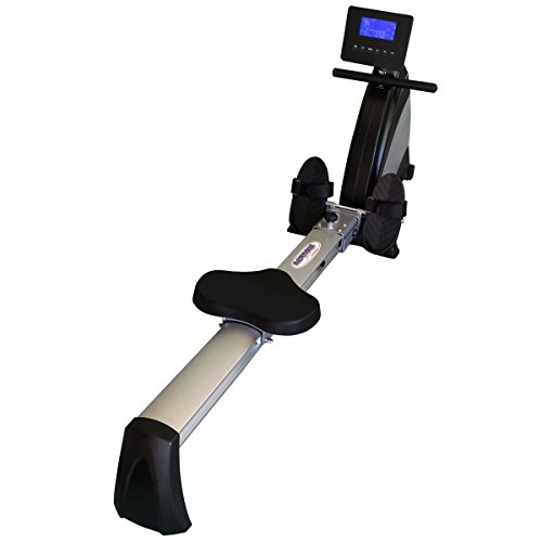 ActionLine A80618 Programmable Magnetic Exercise Rowing Machine