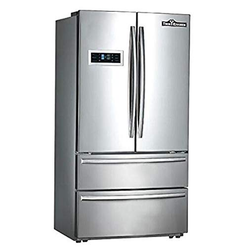 Cabinet Depth French Door Refrigerator, Ice Maker, 36
