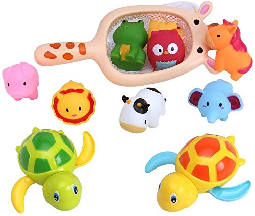 Swimming Cute Turtle Pool Animal Floating Toy For Baby Kid Children Bath Time BT