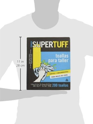 Amazon.com: Trimaco SuperTuff Shop Towels, 200 count box, 10-inch x 12-inch: Home Improvement