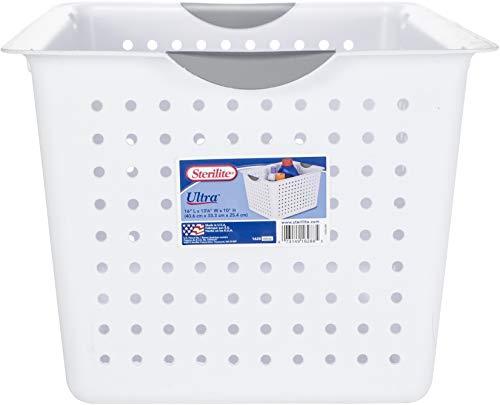 Sterilite 1628 Deep Ultra Plastic Storage Basket