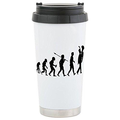 CafePress - Tuba Player Stainless Steel Travel Mug - Stainless Steel Travel Mug, Insulated 16 oz. Coffee Tumbler