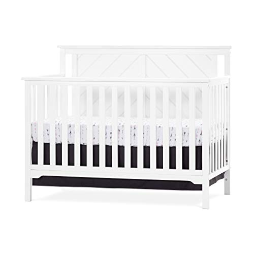 Forever-Eclectic-Hampton-Flat-Top-4-in-1-Convertible-Baby-Crib