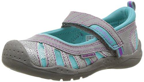(pediped Girls' Minnie Water Shoe, Glitter, 23 Regular EU Big Kid (7 US))