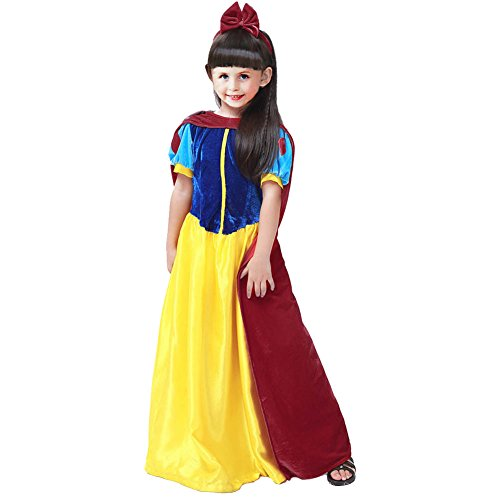 KUFV Snow White Costume Halloween Costume for Girls (Classic Snow White Plus Size Costumes)