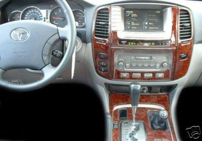 Toyota Land Cruiser Interior Burl Wood Dash Trim Kit Set 2003 2004 2005 2006 2007 Buy Online