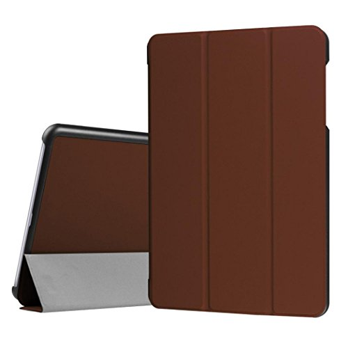 Sikye Magnetic Auto Sleep Leather Cover Case For Asus ZenPad Z10 ZT500KL 4G LTE 9.7inch Tablet PC+Free Gift (Brown)