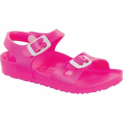 Birkenstock Girls Rio EVA Neon Pink Sandal - 31 -