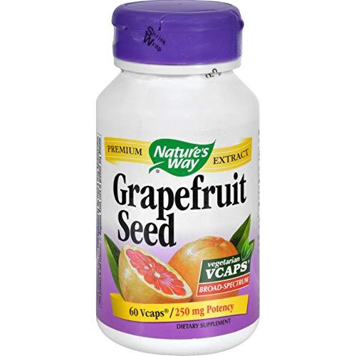 Nature's Way Grapefruit Seed, 250 milligrams 60 Vegetarian Capsules