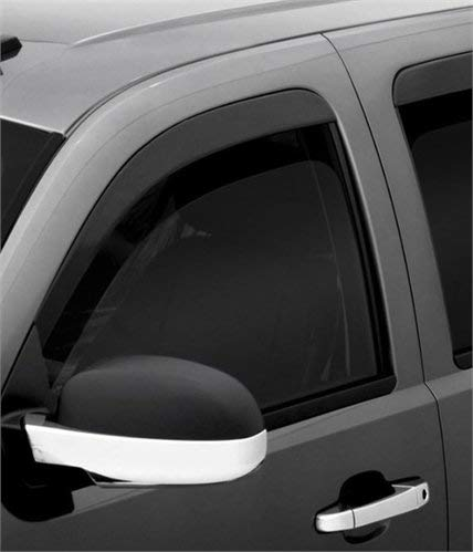 Auto Ventshade 94183 Original Ventvisor Side Window Deflector Dark Smoke, 4-Piece Set for 2018-2018 Jeep Wrangler JL