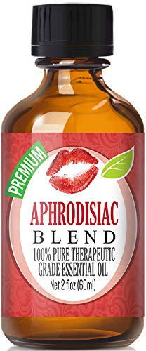 Aphrodisiac Essential Oil Blend - 100% Pure Therapeutic Grade Aphrodisiac Blend Oil - 60ml by Healing Solutions