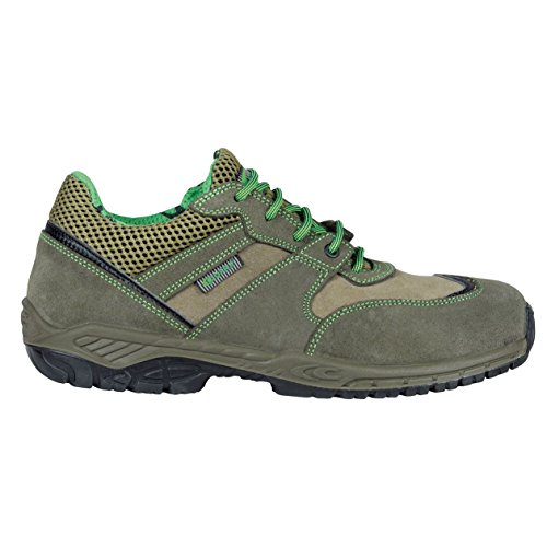 Cofra 30210–000.w42Sticke S1P SRC–zapatos de seguridad talla 42verde