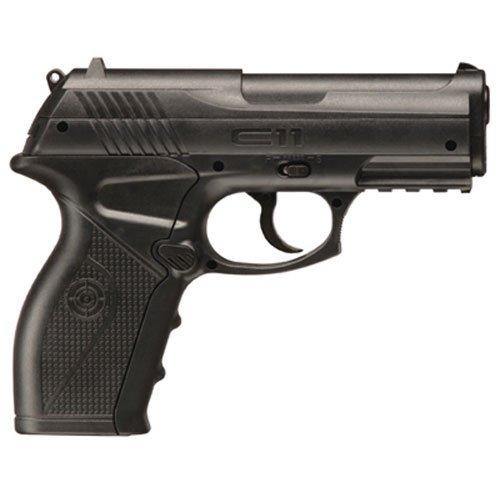 Crosman C11 Semi-Auto CO2 Air Pistol (BB) (Semi Auto Co2 Air Rifle)