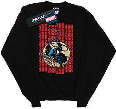 Marvel Universe Herren Spider-Man Pixelated Cover Sweatshirt Schwarz Large