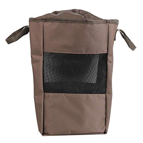 Keenso Fishing Wader Bag, Portable Fishing Bag Vented Mesh Shoe Boot Oxford Cloth Bag Breathable Outdoor