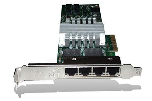 (Intel EXPI9404PTLBLK PRO/1000 PT 4-Port Low Profile PCI-E Server Adapter, Bulk)