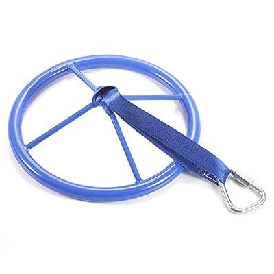 Prelobe Wheel Arm Strength Exercises Climbing Training Ninja Wheel Outdoor Fitness Equipment for Children: Sports & Outdoors