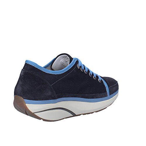 MBT Sneakers Mujer Textil Gamuza (38 EU, Azul)