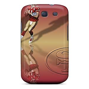 Awesome XFo1313ZutV Harries Defender Tpu Hard Case Cover For Galaxy S3- San Francisco 49ers