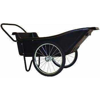 Amazon Com Rcp5642bla Big Wheel Utility Cart