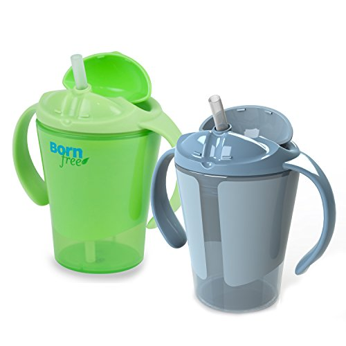 BPA-Free Grow with Me 6 oz. Training Straw Cup, 2 Count