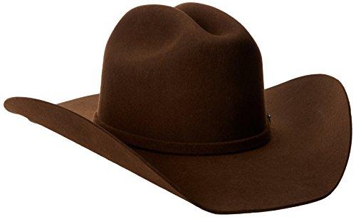 Justin Men's 3X Rodeo Hat, Brown,7 -