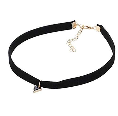 GUAngqi Classic Velvet Layered Necklace