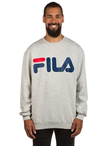 Fila Classic Sweatshirt Sweater Logo Grau rwr0q6Ba