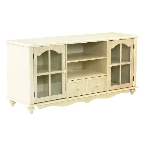Coventry TV / Media Stand, ANTIQUE WHT -