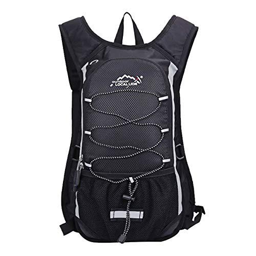 kolpop Mochila Hidratacion Ciclismo MTB, 10L Backpack con Capa Interna Aislada Compatible con Vejiga de Hidratación 2L Mochila Transpirable e Impermeable ...