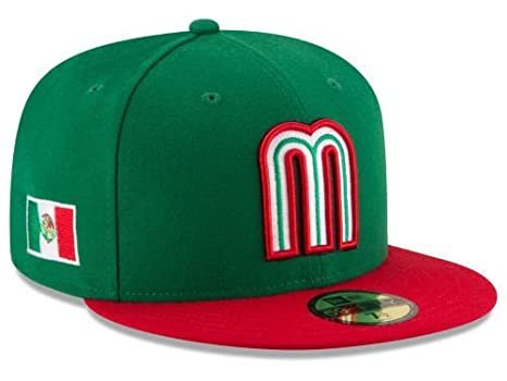 Amazon.com : New Era WBC Mexico 2017 World Baseball Classic 59FIFTY Fitted Cap NewEra Select Cap Size: 7 1/2 : Sports Fan Baseball Caps : Sports & Outdoors
