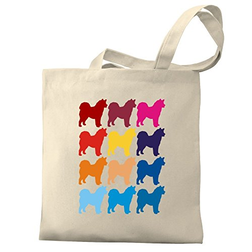 Alaskan Eddany Tote Colorful Eddany Bag Colorful Alaskan Malamute Canvas xCPfqUISzw