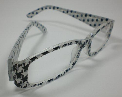amp; Design Black Nn nbsp;diop 'moderne Sehhilfe Femme De 1 3 Plastique White 0 Etui En Lunettes Lecture 8zxwpq8Zg