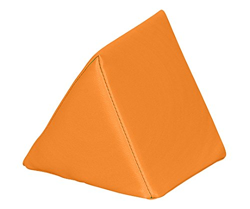 弘益7-3367-03キッズガーデンクッション三角オレンジ B07BD2KC4Z