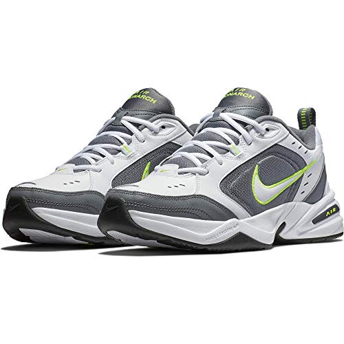 - Nike Men's Air Monarch IV Cross Trainer, White-Cool Grey-Anthracite, 8 Regular US