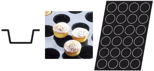 Flexipan 336045 Muffins Nonstick Sheet Mold by Matfer Bourgeat