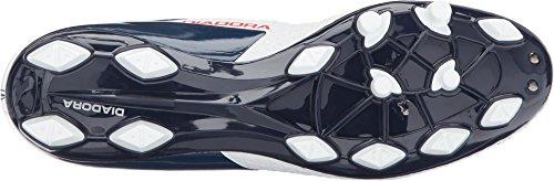 Diadora Unisex Mw-tech Rb R Lpu Bianco / B.night / F.red