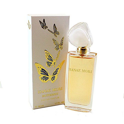 Hanae Mori Butterfly for Women Eau de Parfum Spray, 1.7 Ounce