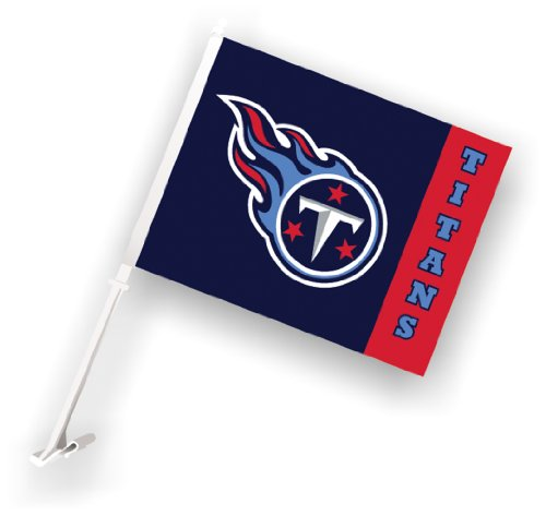 NFL Tennessee Titans Car Flag