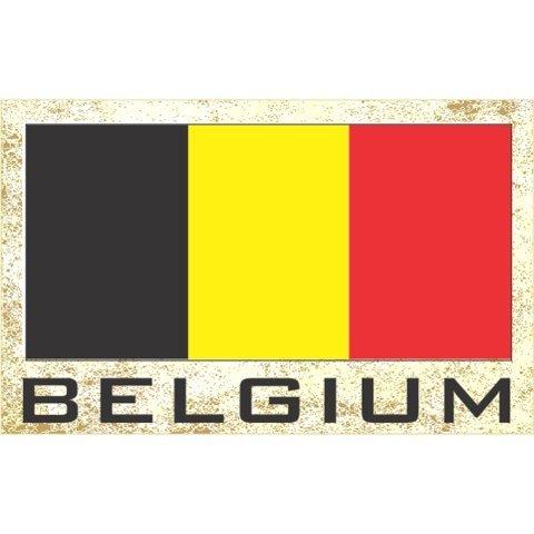 belgium refrigerator magnet - 3