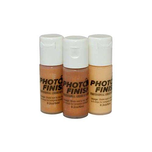 Photo Finish Professional Airbrush Makeup- Foundation -1.0 Oz Cosmetic Face- Choose Color (Contour Set (3x.2oz))