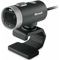 Microsoft 6CH-00001 Cámara Web LifeCam Cinema, color Negro/Plata