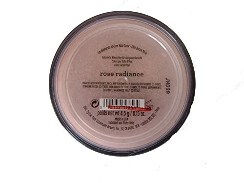 Bare Escentuals Minerals all over face color rose radiance (Bare Escentuals Rose)